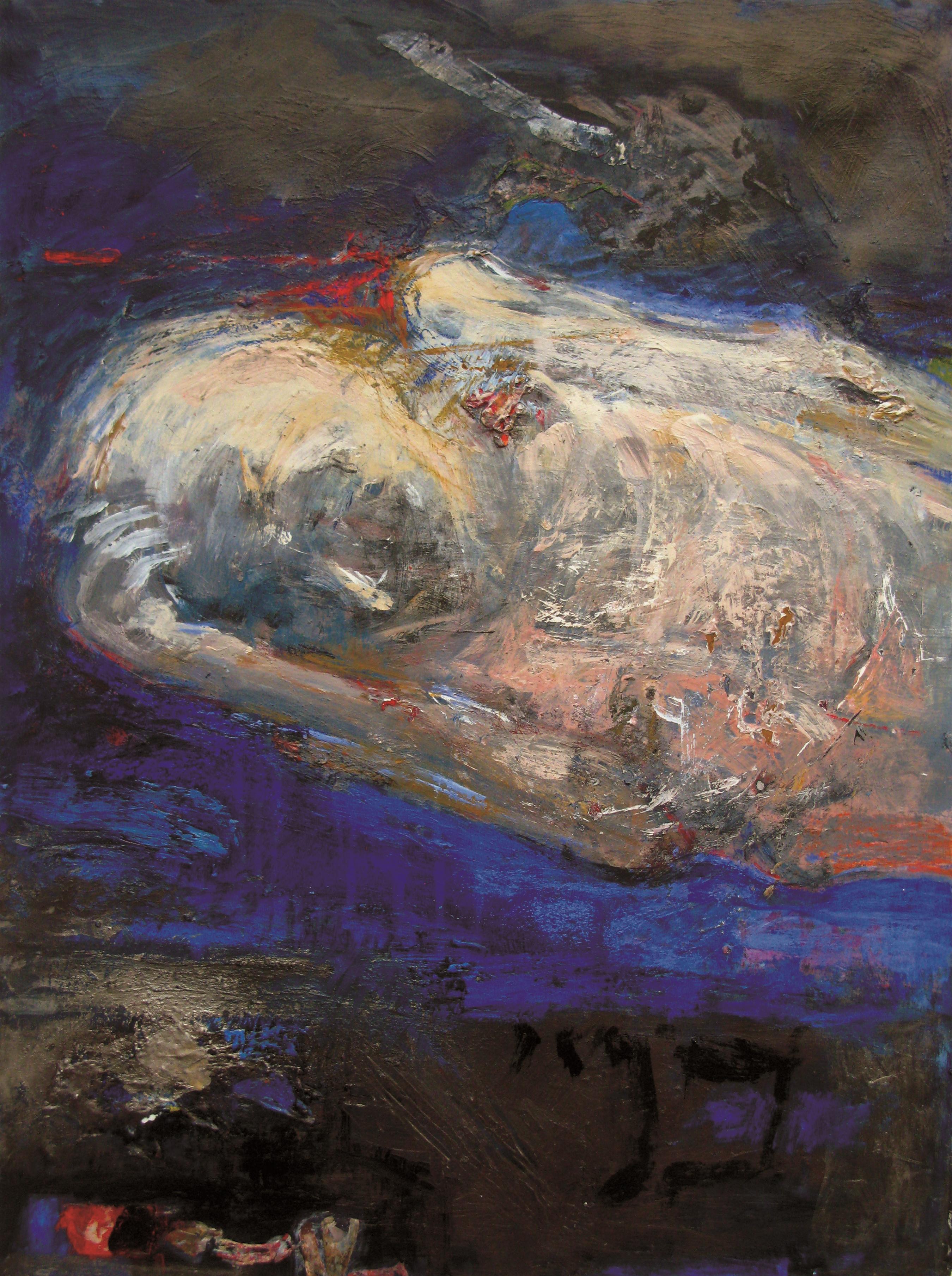 Sheba Sharrow Call It Sleep 22 x 30 acrylic on paper