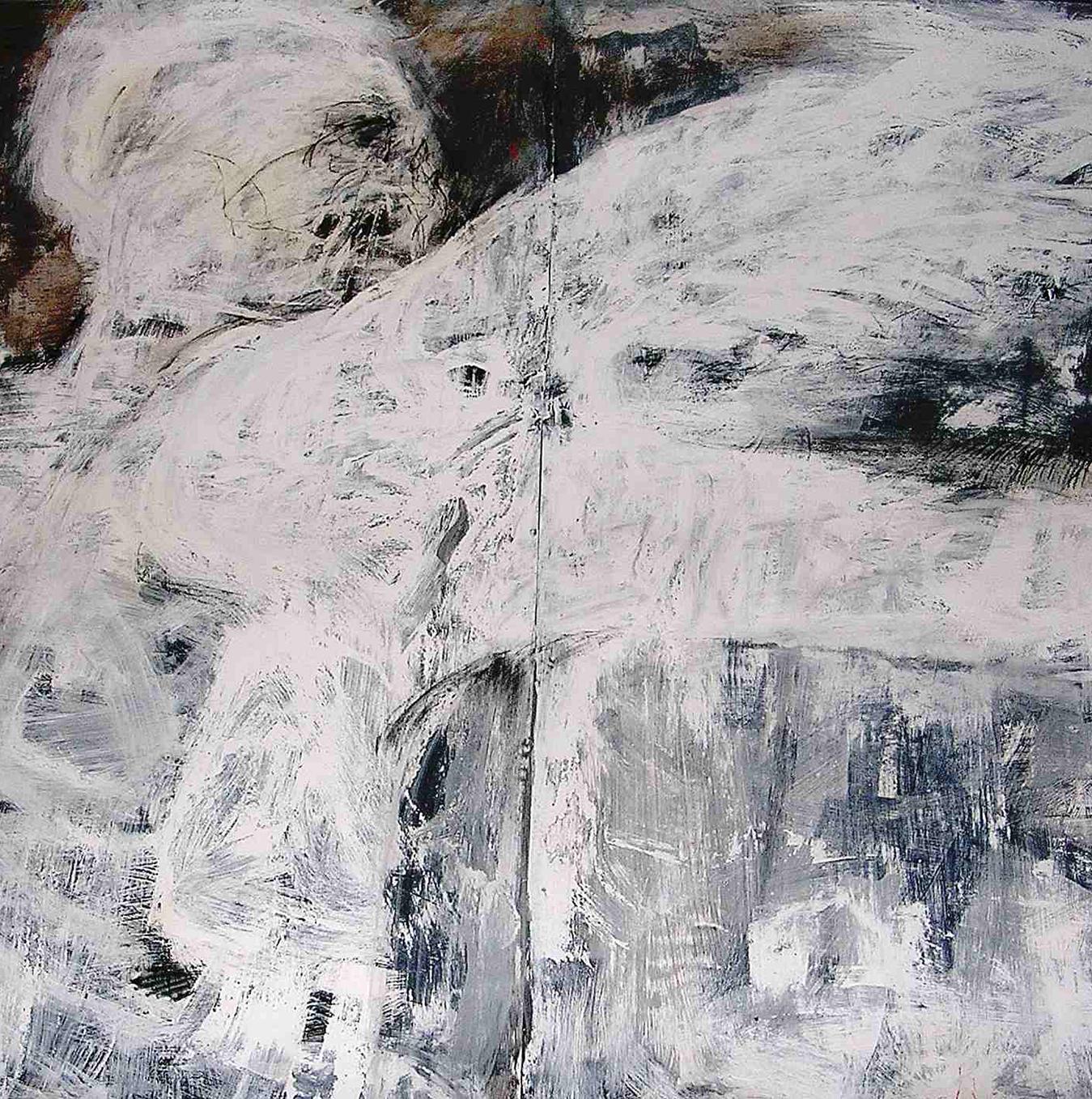 SHEBA SHARROW, Winged Warrior, 1986, 56 x 84 in , mixed media on arches paper, $18,000